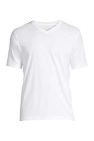 School Uniform Men's Short Sleeve V-neck Super-T