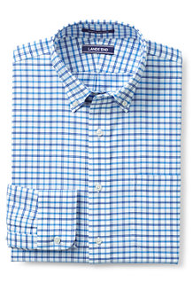MODERN FIT. Buttondown-Kragen. Gemustertes, bügelleichtes Oxfordhemd