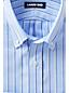 La Chemise en Coton Oxford à Motifs Coupe Classique Repassage Facile