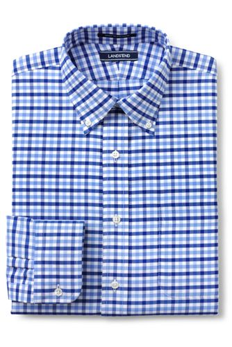 CLASSIC FIT. Buttondown-Kragen. Gemustertes Oxfordhemd