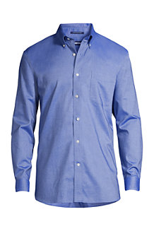 Men's Traditional Fit Easy-iron Button-down Supima Oxford Shirt