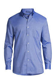Men's Big & Tall Traditional Fit Solid No Iron Supima Oxford Dress Shirt