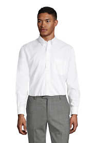 Men's Traditional Fit Solid No Iron Supima Oxford Dress Shirt