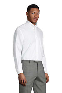 Men's Traditional Fit Solid No Iron Supima Oxford Dress Shirt, alternative image