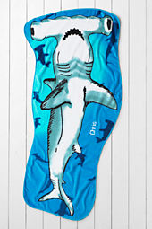 Kids' Hammerhead Shark Beach Towel