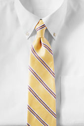 Men's Border Double Stripe Necktie