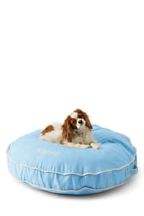 Round Canvas Dog Bed Cover, Front