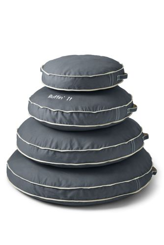 Round Canvas Dog Bed Cover
