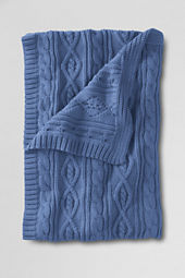 Lakeland Cotton Cable Throw