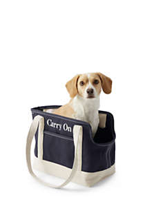 Canvas Tote Pet Carrier, Front