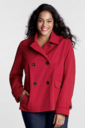 Women's Plus Size Modern Rain Jacket