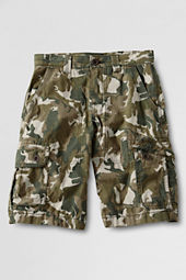 Boys' Ripstop Printed Cargo Shorts