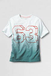 Boys' Short Sleeve Flocked 63 Graphic T-shirt