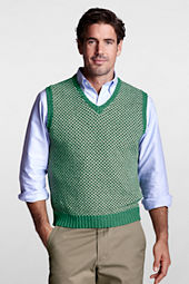 Men's Linen Cotton Birdseye Vest