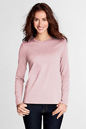 Women's Long Sleeve Relaxed Supima Crew T-shirt