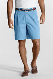 "Men's 9"" Pleat Front Spring Chino Shorts"