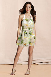 Canvas Women's Floral Tulip Cover-up Dress