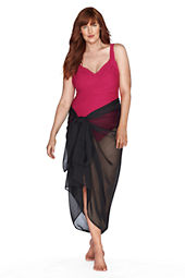 Women's Chiffon Pareo Cover-up