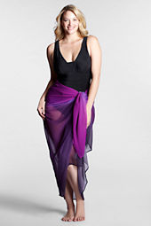 Women's Ombre Chiffon Pareo Cover-up