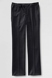 Girls' Plain Front Dress Pants