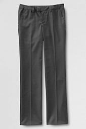 Little Girls' Plain Front Dress Pants