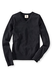 Boy's Fine Gauge V-neck Sweater