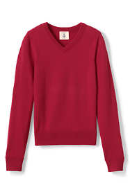 Boys Fine Gauge V-neck Pullover