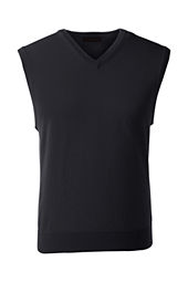 School Uniform Fine Gauge V-neck Sweater Vest