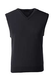 Men's Performance Fine Gauge V-neck Vest