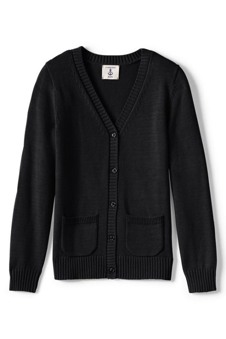 Girls Drifter Button Front Cardigan