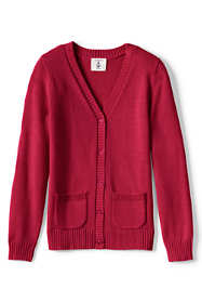 School Uniform Little Girls Drifter Button Front Cardigan