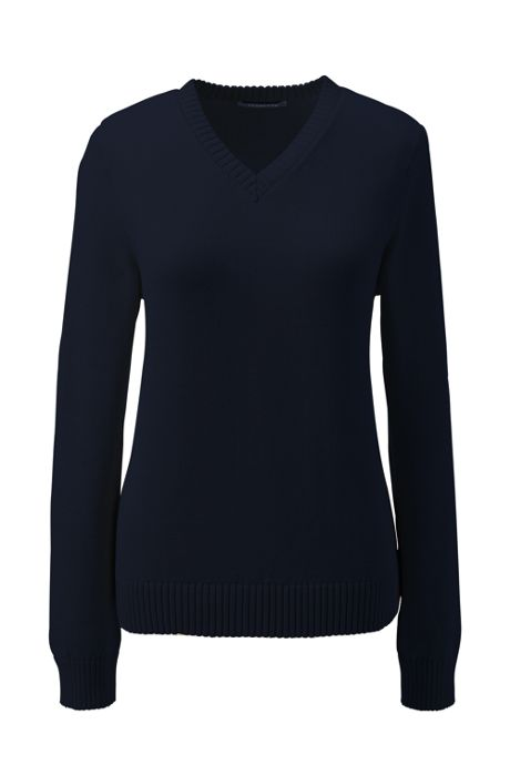 School Uniform Women's Drifter V-neck Pullover