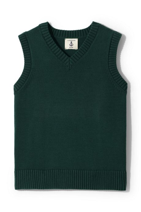Little Girls Drifter V-neck Vest