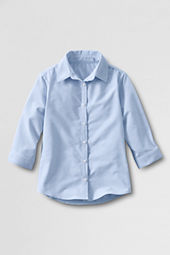 Women's 3/4-sleeve Oxford Shirt