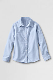 Girls' Long Sleeve Oxford Shirt