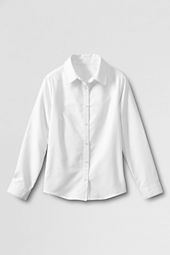 Little Girls' Long Sleeve Oxford Shirt