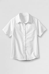 Little Girls' Short Sleeve Oxford Shirt