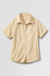 School Uniform Short Sleeve Oxford Shirt