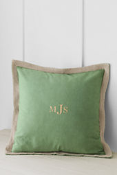 "20"" x 20"" Decorative Trim Pillow Cover"