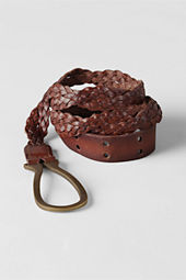Women's Twisted Braid Belt