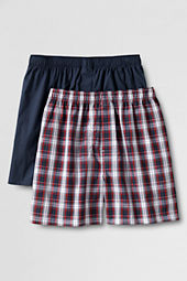 Men's Broadcloth Boxers (2-pack)