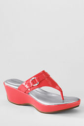Women's Harbor Light Mid Platform Wedge Thongs