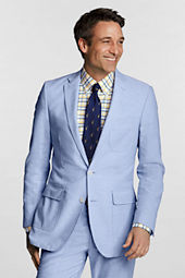 Men's Tailored Fit 2-button Flap Oxford Jacket