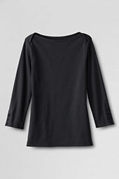 Women's 3/4-sleeve Envelope Neck Knit Shirt