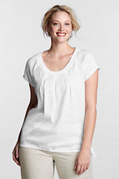 Women's Raglan Sleeve Cinched Hem Shirt