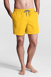"Men's 6"" Solid Volley Swim Shorts"