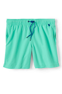 Men's Plain 6˝ Swim Shorts