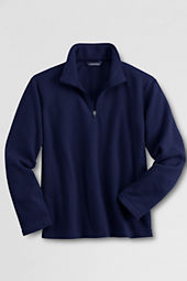 School Uniform Microfleece Half-zip Pullover