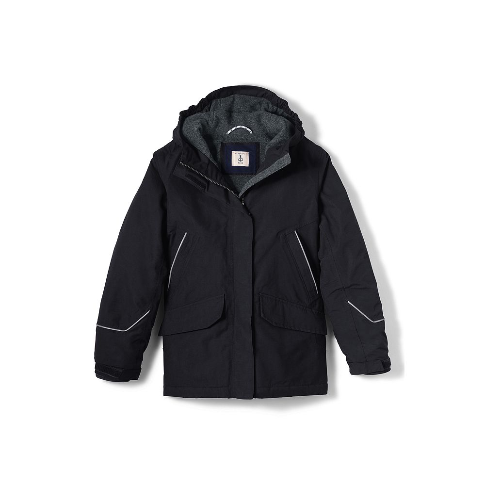 Lands' End School Uniform Little Boys' Squall Parka at Sears.com