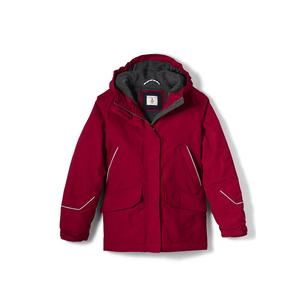 Lands' End School Uniform Boys' Squall Parka at Sears.com